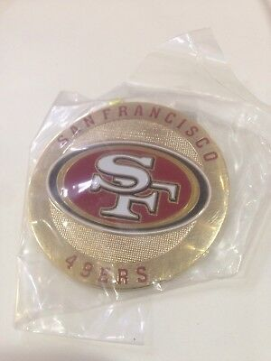 San Francisco 49ers metal Round Logo Poker Cards Protector