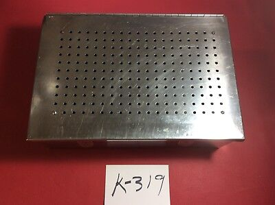 Micro Aire 966-000 Orthopedic Instrument Sterilization Tray Case  Surgical K319