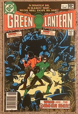 Green Lantern #141 VF+! 1st Appearance Omega Men! FREE US SHIPPING!