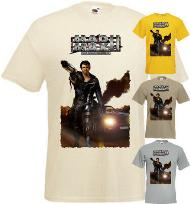 ca02abf444e Mad Max II The Road Warrior v8 T-shirt zinc natural movie poster all sizes