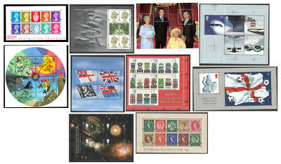 2000 - 2002 Royal Mail Miniature Sheets MNH. Each sold separately.