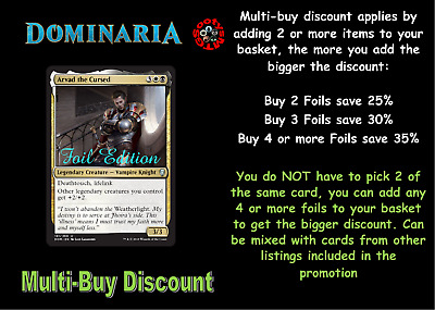 MTG Dominaria DOM Chooose your Uncommon FOIL Buy 2 or more save 25% In Stock