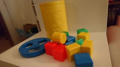 Blocs Fisher-Price Vintage