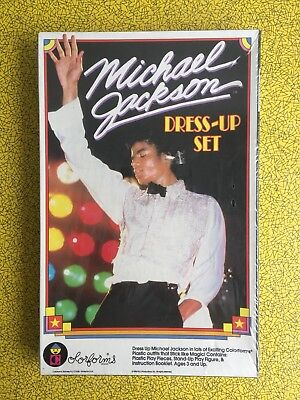 Michael Jackson Dress Up Colorforms colourforms Vintage Rare 70s