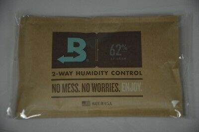 Boveda 62% RH 2-Way Humidity Control - Large 67 gram INDIVIDUALLY WRAPPED 1 pack