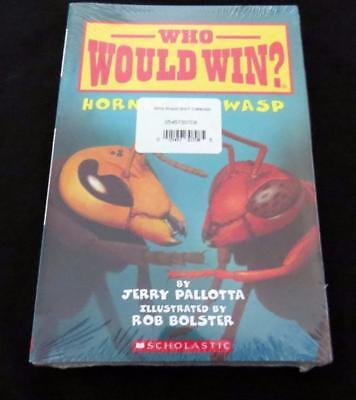 6 NEW SEALED WHO WOULD WIN? Early Reader Animal CHILDREN PICTURE BOOKS LOT SET
