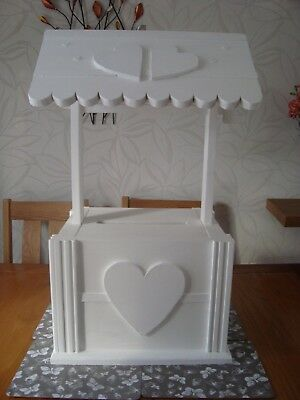 Wedding wishing well post box for sale free postage in the uk beautiful design.