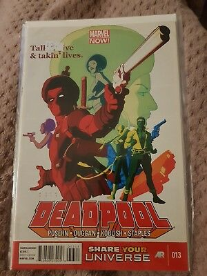 Deadpool Vol 2 issue 13. New. Marvel Now.
