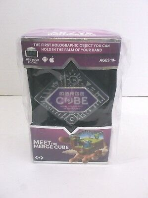AR/VR Holograms Merge Cube Mobile Device Powered New