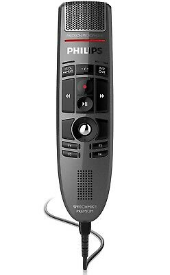 Philips SpeechMike PRO USB Dictation Microphone LFH3500 w/ USB Cable