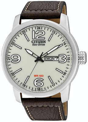 Citizen Eco-Drive Stainless Steel Mens Watch BM8470-03A. 100m Water Resistance