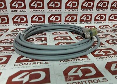 Pepperl + Fuchs V1-W-E2-5M-PUR Female Connector Cable - Used