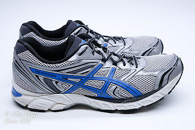 34c2c918a3a6 VGC! ASICS GEL-EQUATION 8 Mens Size 12 Running Shoes Silver Blue ...
