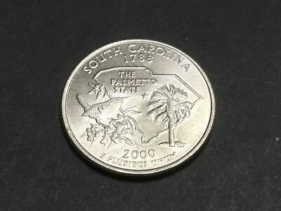 2000 US State Quarter. South Carolina.