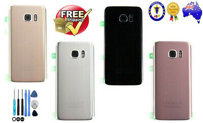 Original Samsung Galaxy S7 G930F/S7 Edge G935 Back Rear Glass Battery Cover+Tool