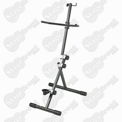 Cello Stand Professional, Heavy Duty Multi-Position Cast Cog Adjustment - New