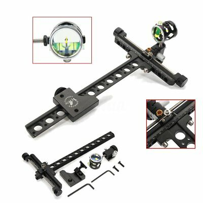 Archery Compound Bow Sights Professional Arrow Bowsight Target Hunting Accessory