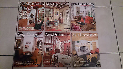 Choice Of 1 Vintage French Home Magazines Art Decoration 1963/64/65/68/69/70/71