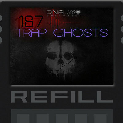 Reason Refills 187 Trap Ghosts Synths New Dna Labs Soundbank!