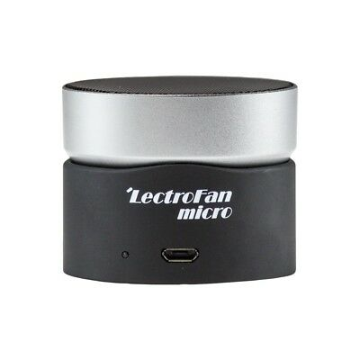 Micro Wireless Sleep Sound Machine and Bluetooth Speaker with Fan LectroFan NEW