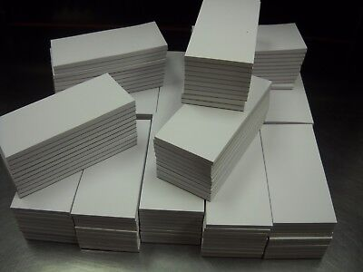 150 Scratch Memo Pads Blank 2 1/2 x 5 1/2  White 50 Sheets per Pad, Made in USA