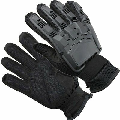 Mens Gloves Motorcycle Car Racing Riding Cycling  Knuckle Protection Black Mitte