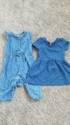 Girls Baby Gap Summer Outfits Size 12-18 Months