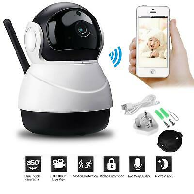 New 2.4GHz 3.5″ Inch LCD Wireless Video Baby Monitor Camera Night Vision Audio