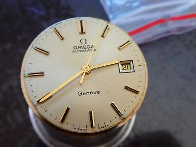 Omega Cal 1481 werk movement  working with dial for parts (W126)