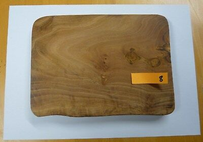 Olive Wood Chopping / Cheese / Serving Board - 21 x 14 x 1.75cm approx.
