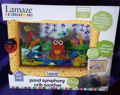 Lamaze Pond Symphony Crib Soother