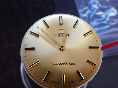 Tissot 781-1 werk movement working with dial for parts (W132)