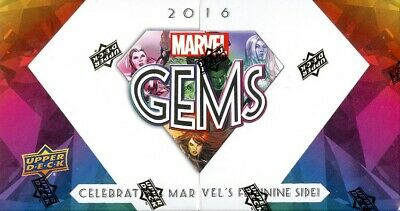 2016 Marvel Gems Box (Upper Deck) Blowout Cards