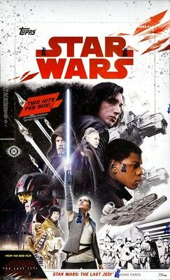 2017 Topps Star Wars The Last Jedi Hobby Box Blowout Cards