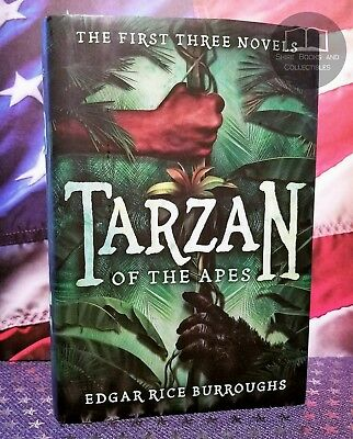 NEW Tarzan of the Apes: The First Three Novels by Edgar Rice Burroughs Hardcover