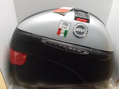 NOS Givi Monokey Keyless 41 Liter Side Cases Pair E41N