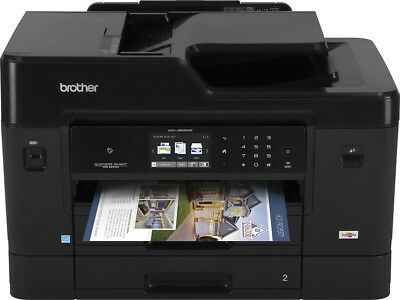 Brother - Business Smart Pro MFC-J6930DW Wireless All-In-One Printer - Black