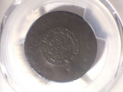 1793 CHAIN America * PCGS VG Detail * Rare FLOWING HAIR LARGE Cent 1c * Repaired