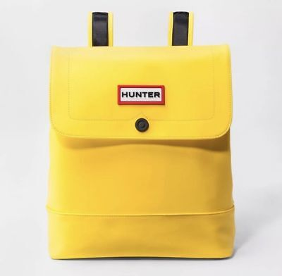0d58682bfbdf HUNTER FOR TARGET Medium Backpack Book Bag YELLOW New NWT FREE SHIP