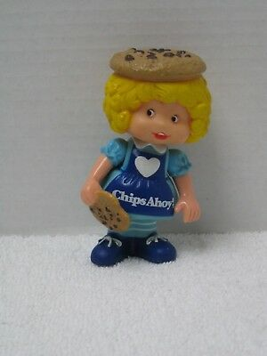 Vintage Doll ~ Chips Ahoy Cookies Chocolate Chips Cookie Doll ~ Nabisco ~ 1983