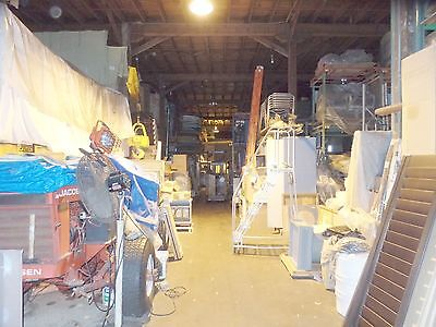 Business Moving Sale Industrial / Commercial Inventory Richmond, VA