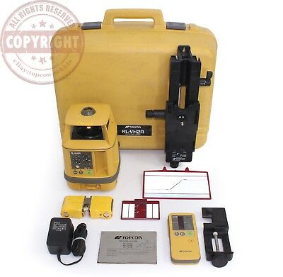 Topcon Rl-Vh2A Self Leveling Rotary Laser Level, Trimble, Spectra,dewalt,rugby