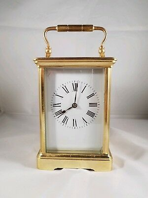 Superb Antique French Striking Carriage Clock Fully Overhauled April 2018.