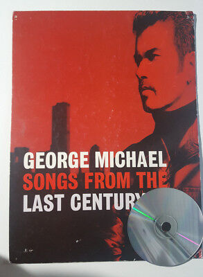 """George Michael """"songs From The Last Century"""" In Stores Spanish Promo Display"""