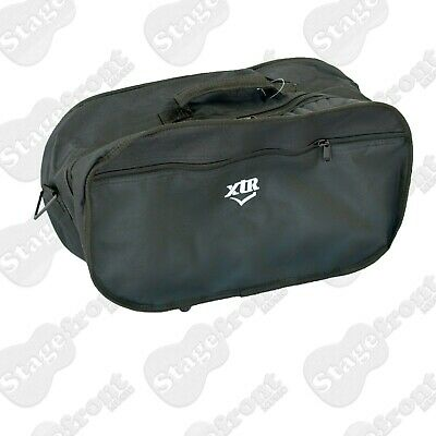 Bongo / Percussion Gig Carry Bag. Black Waterproof Yarn. Shoulder Strap - New
