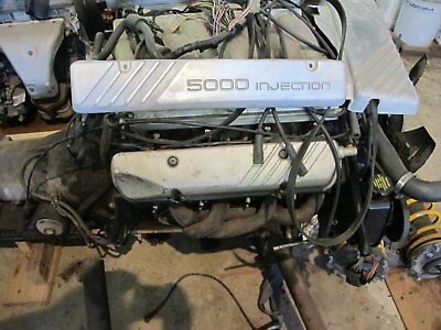 Holden 5 Litre Vn Long Engine + Transmission +Loom