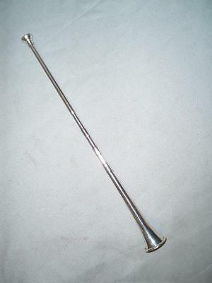 Antique Hallmarked Hunting Horn Candle Snuffer