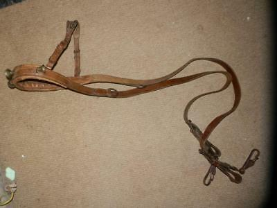 Antique Victorian Dog/goat Harness With 6 Collar Bells