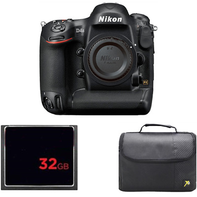 Nikon D4S Digital SLR Camera (Body Only) + 32GB Card & Case