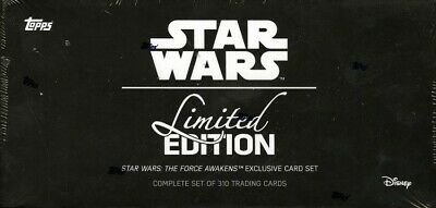 Topps Star Wars The Force Awakens Limited Ed Set Box Blowout Cards